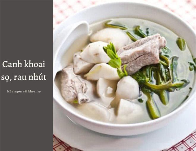 Khoai sọ cực bổ, trời lạnh nhớ nấu 4 món ngon để hưởng dưỡng chất quý từ loại củ này - Ảnh 4