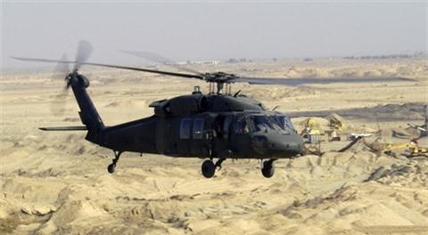 My soc khi UH-60 Black Hawk biban ha bang... ATGM?