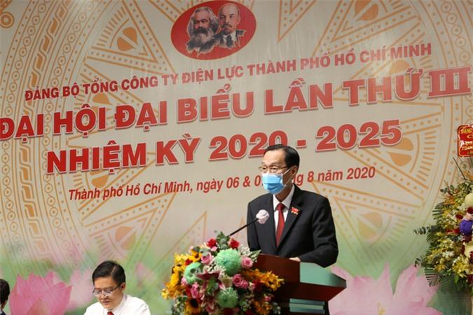 Ông Phạm Quốc Bảo tái đắc cử Bì thư Đảng ủy Tổng công ty Điện lực TP HCM - Ảnh 3.