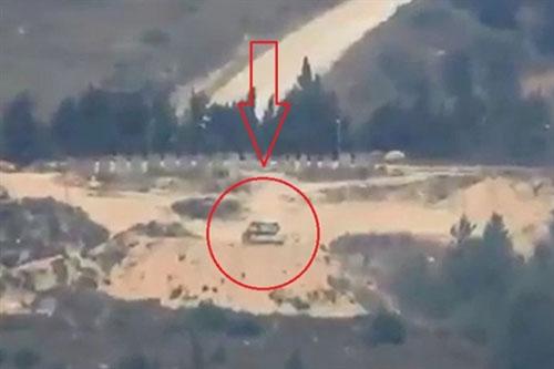 Tên lửa Kornet Nga tiếp tục hạ gục xe tăng Merkava Israel?