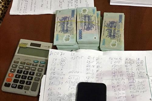 Cà Mau: Phá 3 tụ điểm số đề, tạm giữ trên 360 triệu đồng