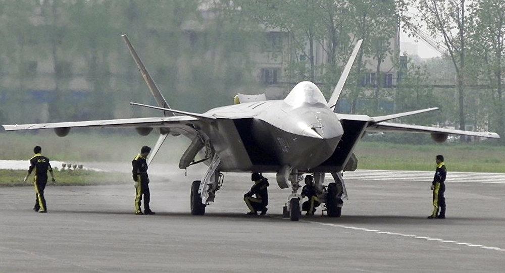 Tiêm kích tàng hình Chengdu J-20 của Trung Quốc. Ảnh: National Interest.