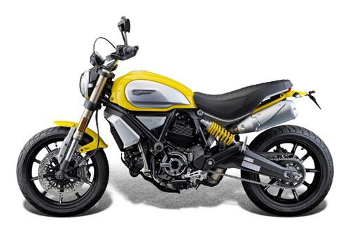 Ducati Scrambler 1100.