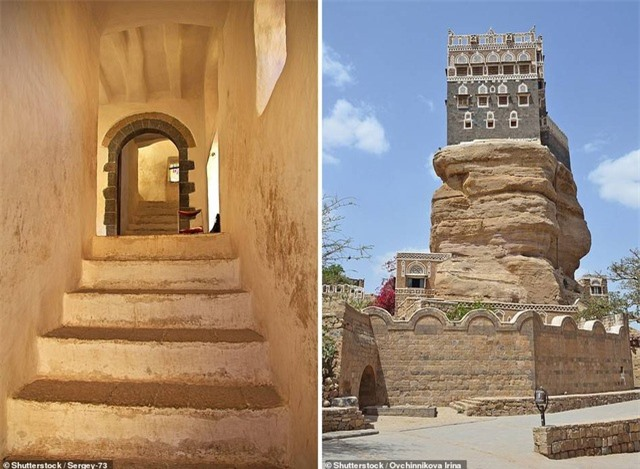 """Chiêm ngưỡng công trình lâu đài """"mọc"""" lên từ trụ đá - Ảnh minh hoạ 4"""
