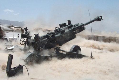 Đạn 155m dẫn đường chính xác Excalibur lần đầu tiên xuất hiện trong chiến tranh năm 2007