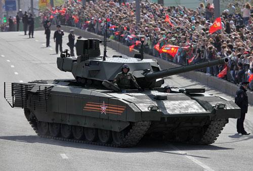Xe tăng chiến đấu T-14 Armata của Nga