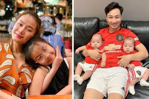 Con gái riêng hào hứng đến nhà MC Thành Trung chơi với hai em, vợ cũ phản ứng gì?