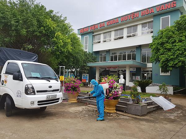 Bệnh viện dã chiến Hòa Vang,