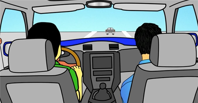 Cách xử lý nhầm chân ga khi lái thử ô tô ít người biết
