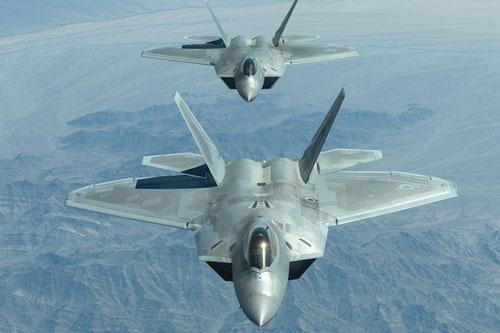 Tiêm kích F-22 của Mỹ. Ảnh: The Drive.
