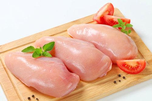 Thịt ức gà chứa rất ít chất béo - Ảnh minh họa: Internet