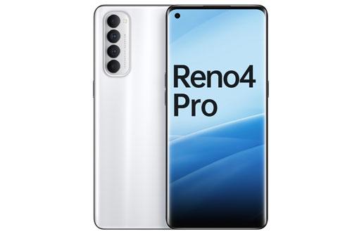 2. Oppo Reno4 Pro (thời gian sạc đầy pin: 43 phút).