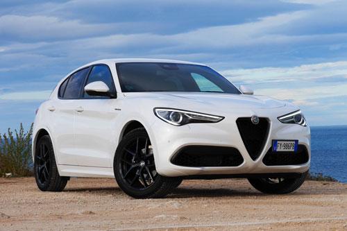 7. Alfa Romeo Stelvio.