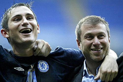 """Abramovich chi 200 triệu bảng cho Lampard tự do """"mua sắm"""""""