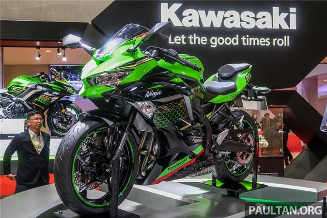 Kawasaki Ninja ZX-25R 2020 ra mat tai Philippines anh 1