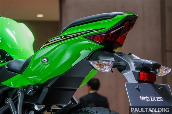 Kawasaki Ninja ZX-25R 2020 ra mat tai Philippines anh 5