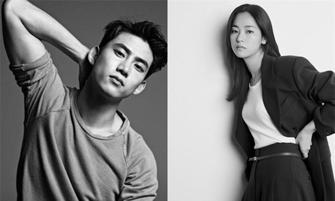 Nam ca sĩ Taecyeon và nữ diễn viên Jeon Yeo Bin.