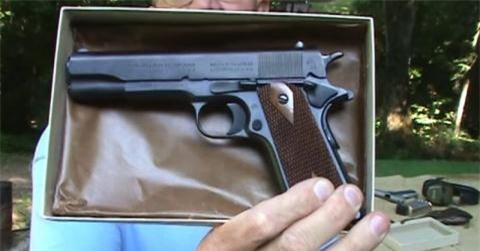 Sung phong than cua My: Colt 1911