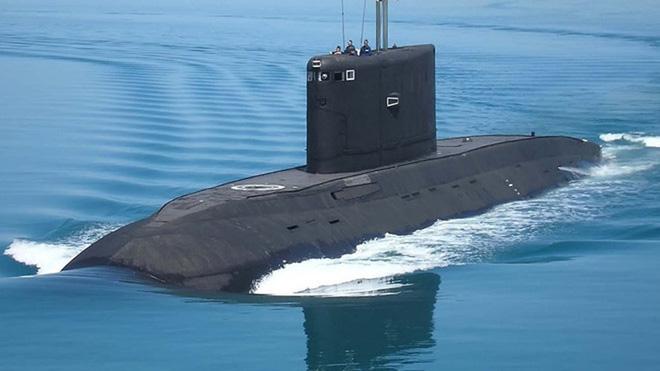 Phương Tây không thể tìm ra tàu ngầm Kilo 636.3 của Hải quân Nga. Ảnh: Reporter.
