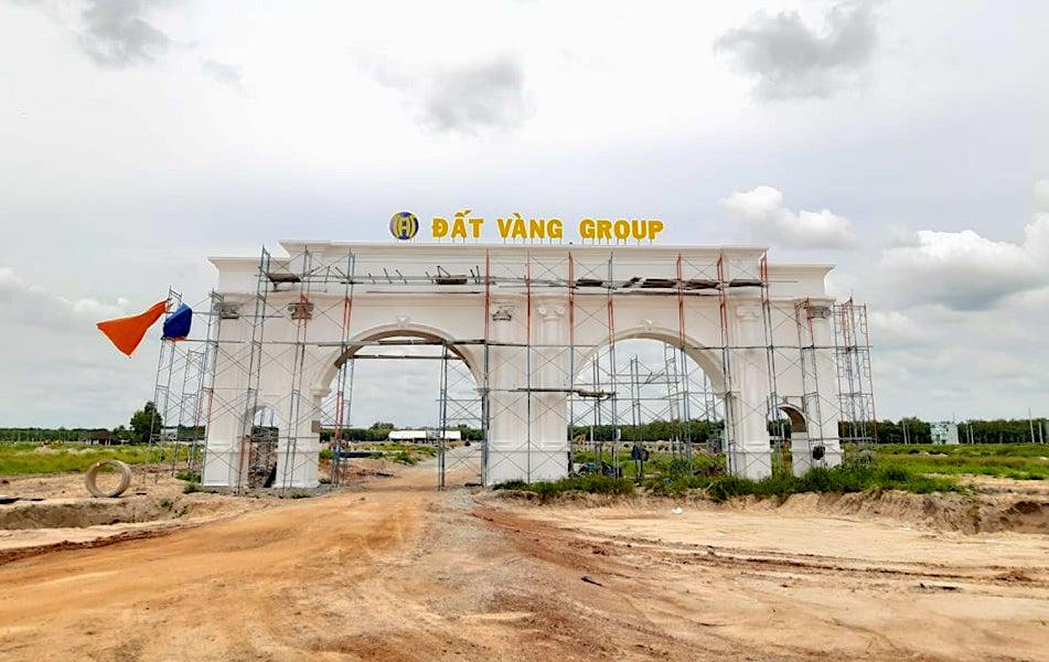 Dự án Thăng Long Residence vừa bị xử phạt vì xây dựng trái phép. (Ảnh: VĐ)