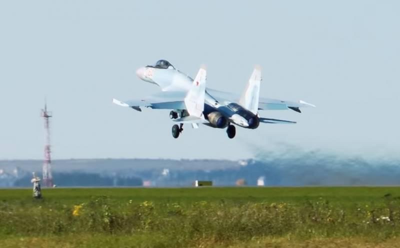 Tiêm kích đa năng Su-35S của Không quân Nga. Ảnh: TASS.