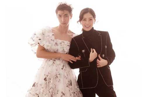 """Bình An được khen """"xinh như công chúa"""" trong ảnh cưới với Á hậu Bùi Phương Nga"""