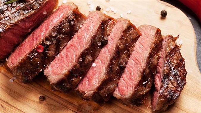 Thịt đỏ phòng ngừa dị tật thai nhi.