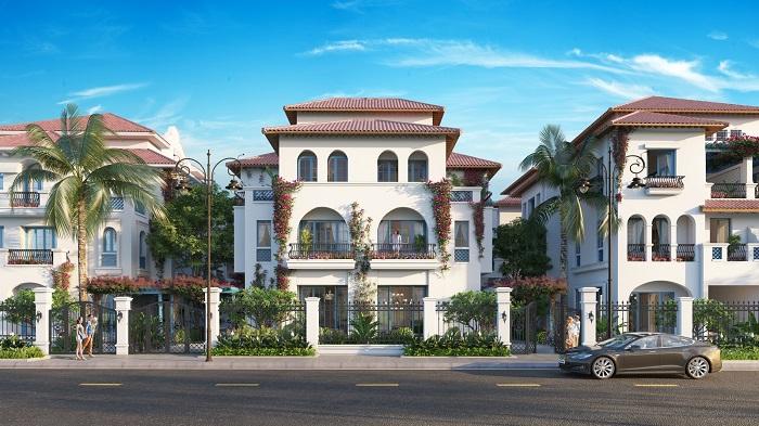Biệt thự song lập Sun Grand City Feria được tầng lớp doanh nhân ngắm đến cho đại gia đình.