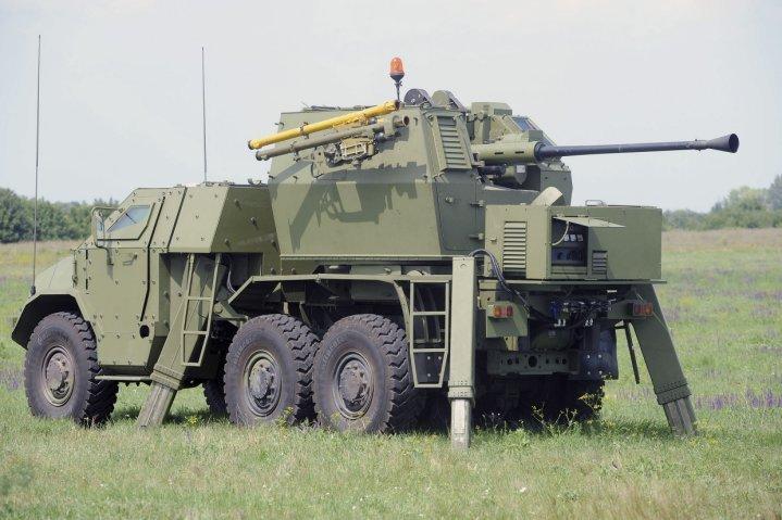 Tên lửa vác vai Igla được tích hợp vào pháo tự hành PASARS. Ảnh: Janes Defense.