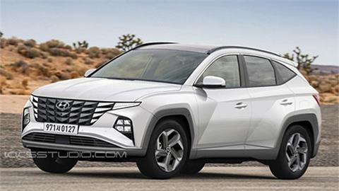 Hyundai Tucson 2021 đẹp mê ly lộ diện trước ngày ra mắt, cạnh tranh Mazda CX-5, Honda CR-V