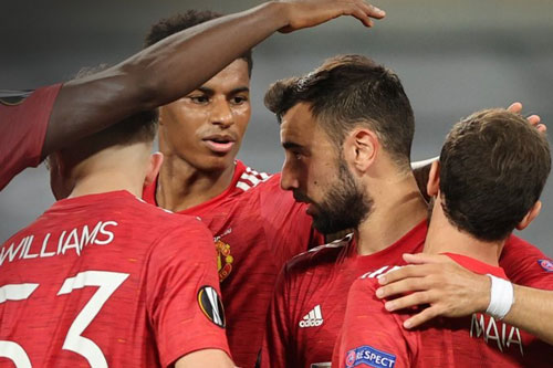 M.U gặp Sevilla ở bán kết. Ảnh: Getty.