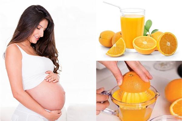 Cam giúp mẹ bầu phòng ngừa dị tật thai nhi hiệu quả