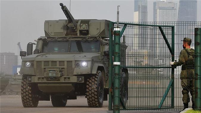 Xe bọc thép mới sẽ thay đổi bộ mặt của Lực lượng lính dù Nga