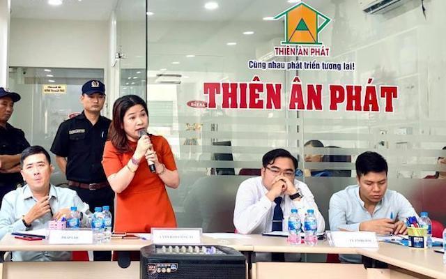 """Bắt Tổng giám đốc công ty Bất động sản Thiên Ân Phát vì bán dự án """"ma"""""""