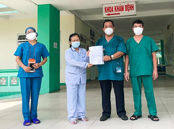 Đà Nẵng: Thêm bệnh nhân Covid-19 thứ 5 được xuất viện