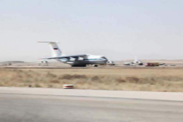 Vận tải cơ đã đưa S-300 tới Libya giúp lực lượng LNA đồng minh. Ảnh: Avia-pro.