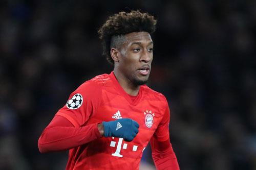 10. Kingsley Coman (Bayern Munich).