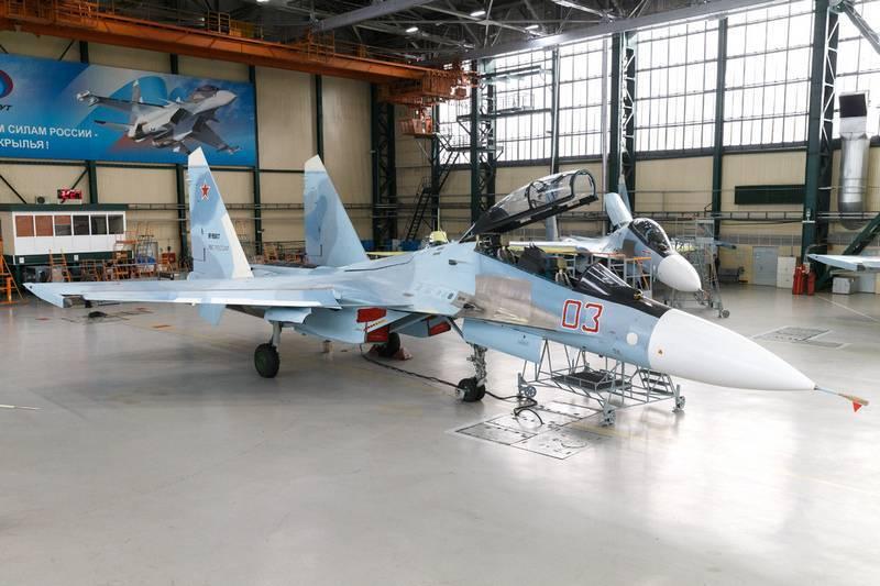 Tiêm kích đa năng Su-30SM do tổ hợp chế tạo hàng không Irkutsk sản xuất. Ảnh: Topwar.