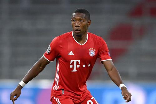 Trung vệ: David Alaba (Bayern Munich).