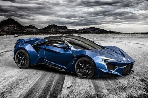 4. W Motors Fenyr SuperSport (vận tốc tối đa: 394 km/h).