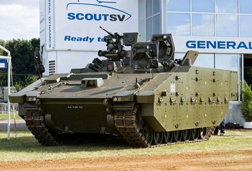 Quân đội Anh bắt đầu tiếp nhận xe bọc thép mới