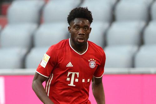 Hậu vệ trái: Alphonso Davies (Bayern Munich).