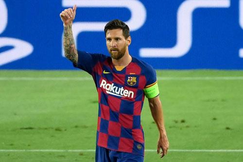 Tiền vệ phải: Lionel Messi (Barcelona).