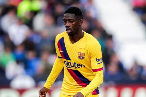 8. Ousmane Dembele (Barcelona).