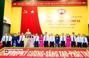 Ông Trịnh Tuấn Sinh tái đắc cử Bí thư Đảng ủy Khối Cơ quan và Doanh nghiệp tỉnh Thanh Hoá, nhiệm kỳ 2020-2025