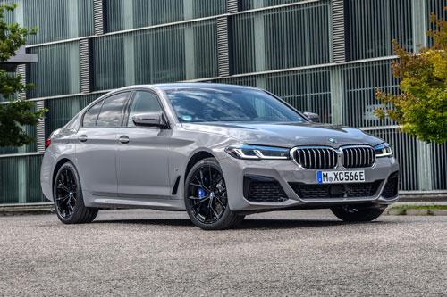 BMW 545e xDrive Hybrid 2021.