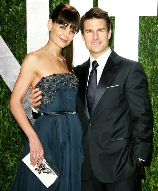 Katie Holmes và Tom Cruise khi còn chung sống.