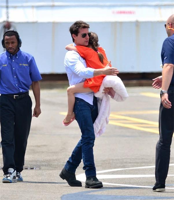 Tom Cruise được trông thấy lần cuối gặp con gái Suri vào năm 2012.