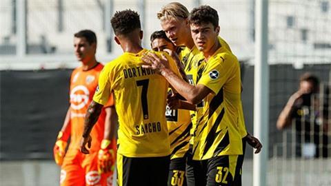 Sancho ca ngợi đội ngũ trẻ trung của Dortmund