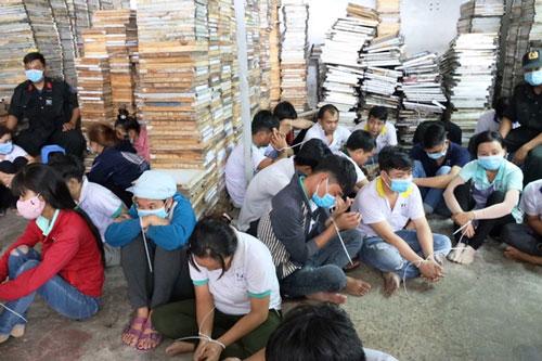 Tây Ninh: Xóa tụ điểm đánh bạc ngay trong cụm công nghiệp